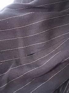 レリアン Leilian ジャケット サイズ9 M レディース ダークブラウン×ベージュ ストライプ【中古】