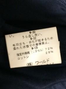 インディビ INDIVI ジャケット レディース ネイビー【中古】