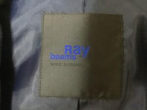 レイビームス RAY BEAMS ジャケット レディース 美品 ダークネイビー×白【中古】