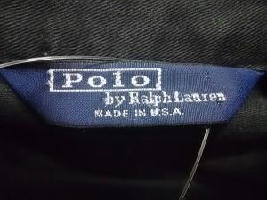 ポロラルフローレン POLObyRalphLauren ブルゾン サイズS メンズ 黒×レッド【中古】