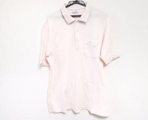 ダンヒル dunhill/ALFREDDUNHILL 半袖ポロシャツ サイズLL メンズ 美品 ピンク sport【中古】
