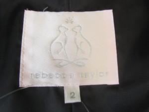 レベッカテイラー rebecca taylor コート サイズ2 S レディース 美品 黒 冬物【中古】