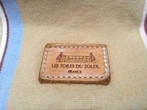 レトワールデュソレイユ LESTOILES DU SOLEIL トートバッグ レディース ベージュ×マルチ キャンバス【中古】