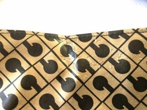 ゲラルディーニ GHERARDINI ショルダーバッグ レディース ゴールド×黒 PVC(塩化ビニール)【中古】