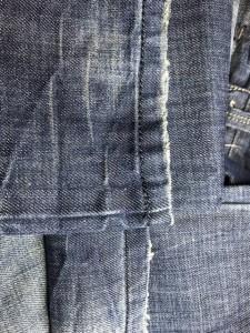 エナジー ENERGIE ジーンズ メンズ ブルー ダメージ加工【中古】