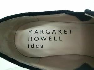 マーガレットハウエル MargaretHowell ブーティ 22 1/2 レディース 黒 サイドゴア/idea スエード【中古】