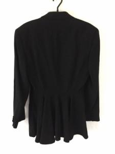 ダナキャラン DKNY ジャケット サイズ4 XL レディース 美品 黒【中古】