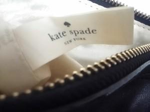 ケイトスペード Kate spade ハンドバッグ レディース 黒 レザー【中古】