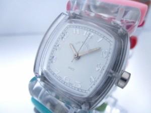 タイムウィルテル TIME WILL TELL 腕時計 - - レディース ブレスウォッチ 白【中古】