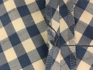 マイストラーダ Mystrada スカート サイズ36(J) レディース ブルー×白 チェック柄【中古】