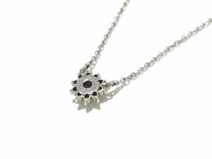 ラソマ La soma ネックレス レディース 美品 Pt850×ダイヤモンド 総ダイヤ0.28カラット【中古】