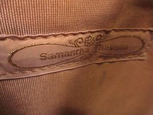 サマンサタバサ Samantha Thavasa トートバッグ レディース ベージュ×アイボリー 化学繊維×レザー【中古】