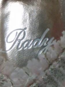 レディ Rady パンプス M レディース 美品 ピンク×アイボリー ツイード/ラメ 化学繊維【中古】