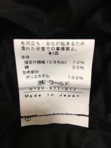 インディビ INDIVI ワンピース サイズ36 S レディース 美品 黒 カシュクール【中古】