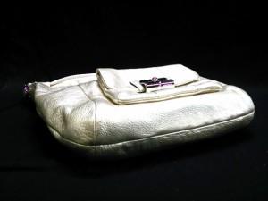 コーチ COACH ハンドバッグ レディース 美品 クリスティン レザー ホーボー 14783 ゴールド レザー【中古】