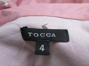 トッカ TOCCA ワンピース サイズ4 S レディース 新品同様 ピンク×グレー ドット柄/レース【中古】