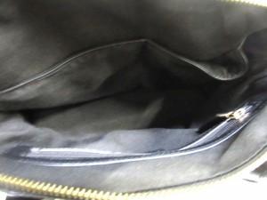 アンタイトル UNTITLED ハンドバッグ レディース 白×黒 チェック柄 ウール×合皮【中古】