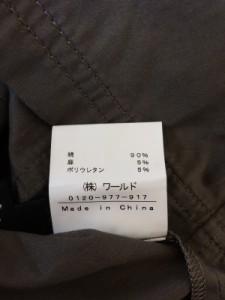 インディビ INDIVI ワンピース サイズ38 M レディース 美品 カーキ シャツワンピ【中古】