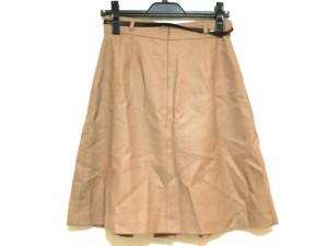 スープ SOUP スカート サイズ9 M レディース 美品 ブラウン【中古】
