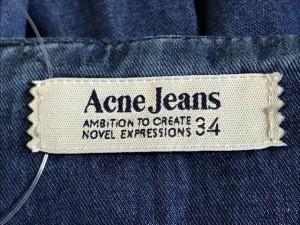 アクネジーンズ AcneJeans ワンピース サイズ34 S レディース ブルー【中古】
