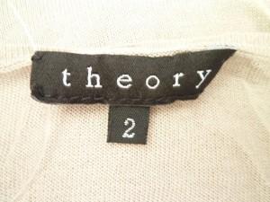 セオリー theory キャミソール サイズ2 S レディース 美品 ベージュ ニット【中古】
