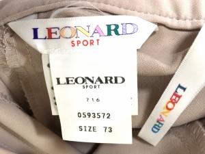 レオナール LEONARD パンツ サイズ73 レディース ベージュ【中古】