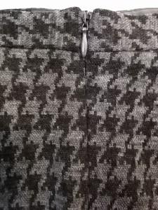 アルマーニコレッツォーニ ARMANICOLLEZIONI スカート サイズ44 L レディース ダークブラウン×グレー 千鳥格子【中古】