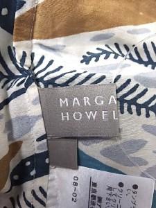 マーガレットハウエル MargaretHowell ノースリーブカットソー レディース アイボリー×ライトグレー×マルチ【中古】