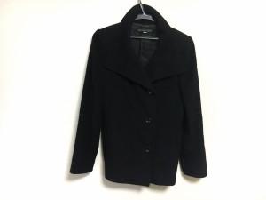 ミッシェルクラン MICHELKLEIN コート サイズ38 M レディース 黒 冬物【中古】