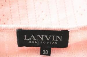ランバンコレクション LANVIN COLLECTION 半袖セーター サイズ38 M レディース ピンク【中古】