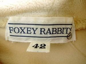 フォクシーラビッツ FOXEY RABBITS' ワンピース サイズ42 L レディース ライトブラウン 肩パッド【中古】