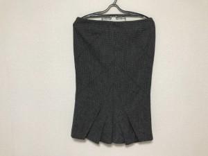 マックス&コー MAX&CO. スカート サイズ42 M レディース 新品同様 黒×アイボリー【中古】