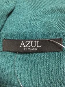 アズールバイマウジー AZUL by moussy 長袖セーター サイズS レディース 美品 グリーン【中古】