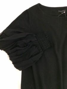 セオリー theory ワンピース サイズ2 S レディース 美品 黒【中古】