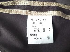 セオリー theory ジャケット サイズ2 S レディース ボルドー 春・秋物【中古】