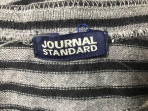 ジャーナルスタンダード JOURNALSTANDARD ワンピース レディース 美品 グレー×黒 ボーダー【中古】