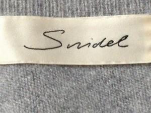 スナイデル snidel 長袖セーター サイズF レディース グレー【中古】