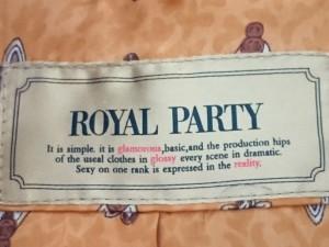 ロイヤルパーティー ROYALPARTY コート サイズ36 S レディース ライトブラウン レッキスファー/冬物【中古】