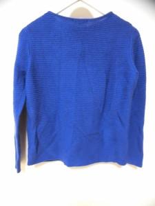 ニジュウサンク 23区 長袖セーター サイズ40 M レディース ブルー【中古】