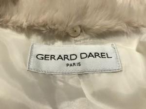 ジェラールダレル GERARD DAREL ダウンコート サイズ11 M レディース アイボリー 冬物【中古】