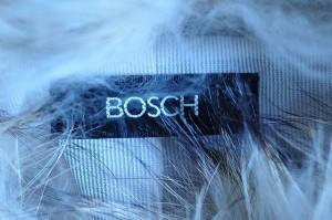 ボッシュ BOSCH ブルゾン サイズ38 M レディース アイボリー ニット/冬物【中古】