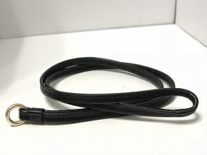 コーチ COACH パスケース レディース 美品 シグネチャー PVC ランヤード ID ケース F63274 ダークブラウン×黒【中古】