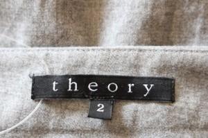 セオリー theory スカート レディース ダークグレー【中古】