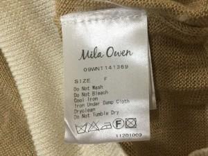 ミラオーウェン Mila Owen セーター サイズF レディース ベージュ×白【中古】