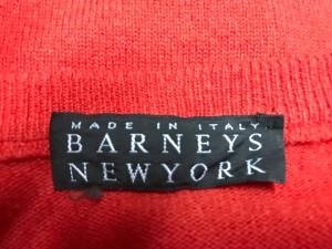 バーニーズ BARNEYSNEWYORK 長袖セーター サイズS メンズ レッド【中古】