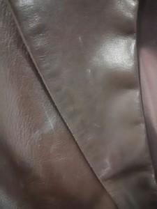 セオリーリュクス theory luxe ジャケット サイズ42 L レディース ダークブラウン レザー【中古】