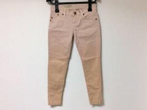 ダブルスタンダードクロージング DOUBLE STANDARD CLOTHING パンツ サイズ36 S レディース ピンク×ベージュ【中古】