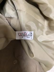 カルバンクライン CalvinKlein ジャケット サイズ13 L レディース ベージュ 肩パッド【中古】