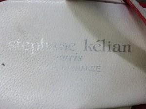 ステファン・ケリアン Stephane Kelian サンダル レディース レッド×ベージュ ウェッジソール/型押し加工/フラワー レザー【中古】