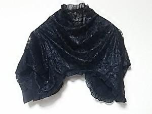ローズティアラ Rose Tiara ボレロ サイズ46 XL レディース 新品同様 黒 リバーシブル/レース【中古】